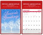 Custom Junior Doodle Pad Calendar w/ Season's Greetings