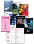 Custom Monthly Full Color Digital Pocket Planner (2 Color Insert)