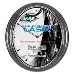 Custom Oval Wall Clock (11 5/8