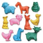 Custom Jr. Farm Animal Stock Shape Eraser