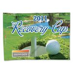 Custom 1 Sided Rectangle Golf Flag