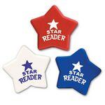 Custom Patriotic Star Imprintable Eraser