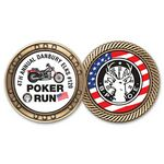 Custom Gold Challenge Coin (1 3/4