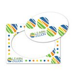 Custom Full Color Magnet Frame w/ Oval Cut Out (4