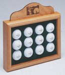 Custom Open Golf Ball Display (11