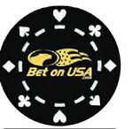 Custom 11.5 Gram Poker Chips Heart/Diamond/Spade/Club