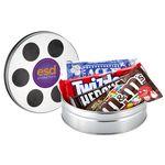 Custom Small Film Reel Tin - Movie Pack