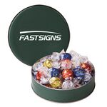 Custom Small Assorted Snack Tins - Lindt Truffles