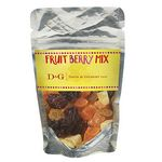 Custom Resealable Clear Pouch w/ Fruit Berry Mix