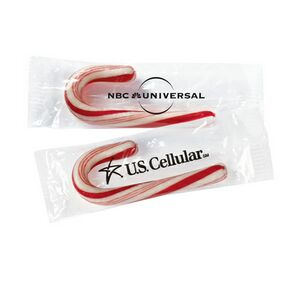 Mini Candy Cane with Label