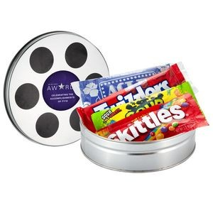 Small Film Reel Tin w/ Assorted Candy