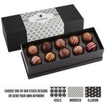 Custom 10 Piece Decadent Truffle Box - Assortment 1