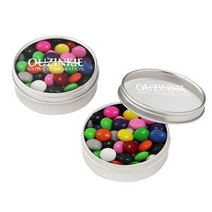 Round Window Tin - Chocolate Buttons