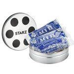 Custom Small Film Reel Tin - Microwave Popcorn (2 bags)