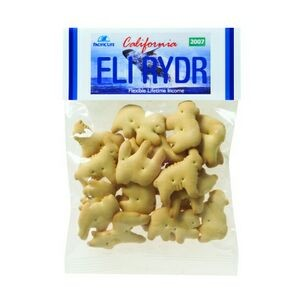 Animal Cookies in Header Bag (2 Oz.)