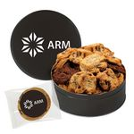 Custom Extra Large Assorted Snack Tin - Gourmet Cookies