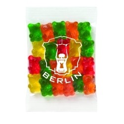 Promo Snax - Corporate Color Gummy Bears (.5 Oz.)