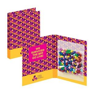 Treat Card - Chocolate Covered Sunflower Seeds (Gemmies)