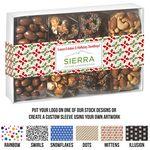 Custom 4 Way Contemporary Gift Box - Gourmet Delights