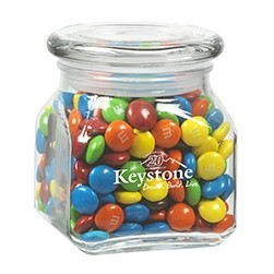 Contemporary Glass Jar - M&M's® (10 Oz.)