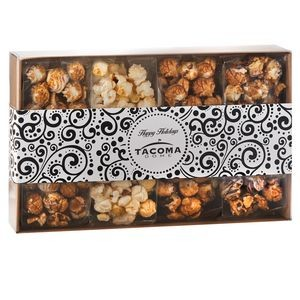 4 Way Contemporary Gift Box - Gourmet Popcorn