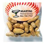 Custom Peanuts in the Shell in Large Round Top Header Bag