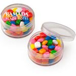 Custom Round Container w/ Mini Gum (1.5 Oz.)