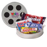 Custom Large Film Reel Tin - Movie Pack
