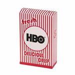 Custom Striped Popcorn Box - Empty