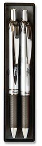 EnerGel Deluxe Pen & Pencil Gift Set - Black