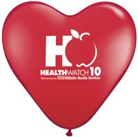 "93720497-157 - 15"" Qualatex Heart Standard Color Latex Balloon - thumbnail"