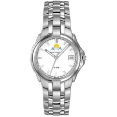 Selco Geneve Men's Silver Passport Watch