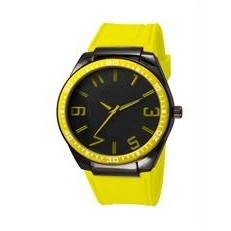 Captivate by Abelle Promotional Time Yellow Watch