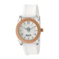 ABelle Promotional Time Maverick Ladies' Rose Gold Watch w/ Rubber Strap