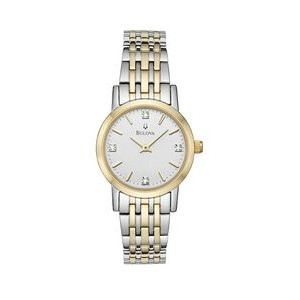 Ladies' Bulova® Classic Collection Diamond-Accent 2-Tone Watch