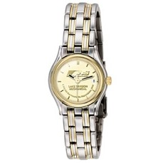 Selco Geneve Ladies' Two Tone Century Medallion Watch