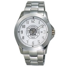 Intrigue Solid Stainless Steel Bracelet Men's Watch