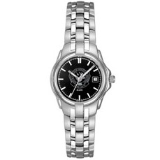 Selco Geneve Ladies Silver Passport Watch