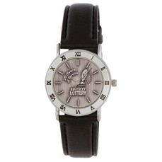 Lady's Columbia Medallion Silver Watch