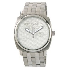 Selco Geneve Ladies Titan Medallion Silver Watch