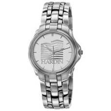 Selco Geneve Gentlemen's Silver Passport Medallion Watch