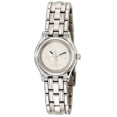 Selco Geneve Ladies' Silver Century Medallion Watch