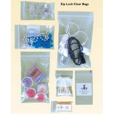 Stock Plain Zip Lock Clear Bag (5