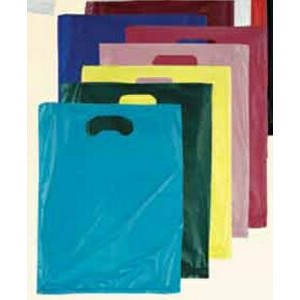 "Stock Plastic Merchandise Bag (13"" x 3"" x 21"")"