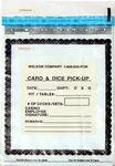 Custom Card & Dice Pickup Bag (7 1/4