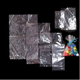 "Stock Plain Polyethylene Clear Bag (5"" x 6"")"