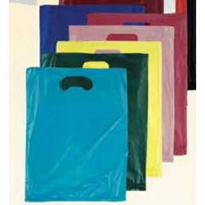 "Stock Plastic Merchandise Bag (12"" x 3"" x 18"")"