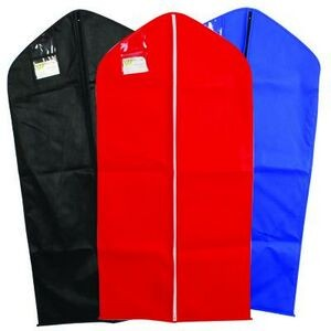"Stock Vinyl Zipper Suit Size Garment Bag (24"" x 40"")"