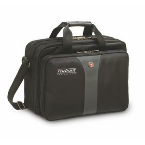 "Wenger® Legacy 16"" Double Gusset Laptop Case"