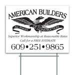 Custom Corrugated Plastic Sign (18